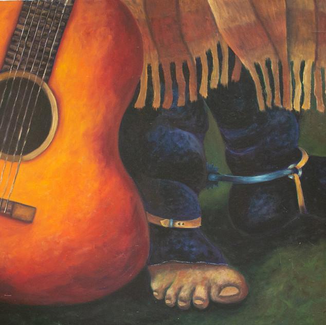 VIOLÃO E O GAÚCHO - Como a corda de um violão, meu som chega no teu coração. -