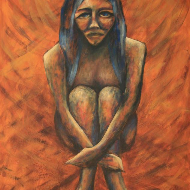 MULHERES DE PEDRA - SOLIDÃO - Sou solitude, equilibro meu estar só com o querer companhia,