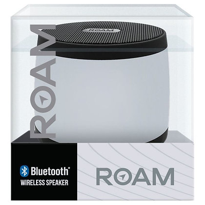 ROAM COLOURS WIRELESS BLUETOOTH SPEAKER - BLACK/WHITE