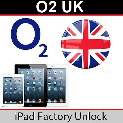 iPad Unlock (O2) - Any Model