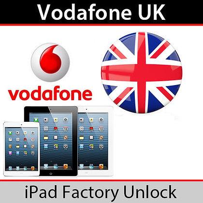 iPad Unlock (Vodafone) - Any Model