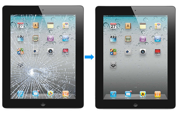 iPad Mini Or Mini 2 (RETINA) Internal LCD & Front Glass Repair (Both)