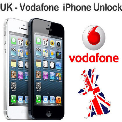 iPhone Unlock (Vodafone) - 4G/S, 5G, 5S/E/C, 6G, 6+, 6s, 6s+