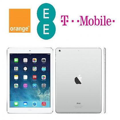 iPad Unlock (EE, T-Mobile, Orange) - Any Model