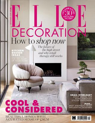 Elle Decoration September 2019