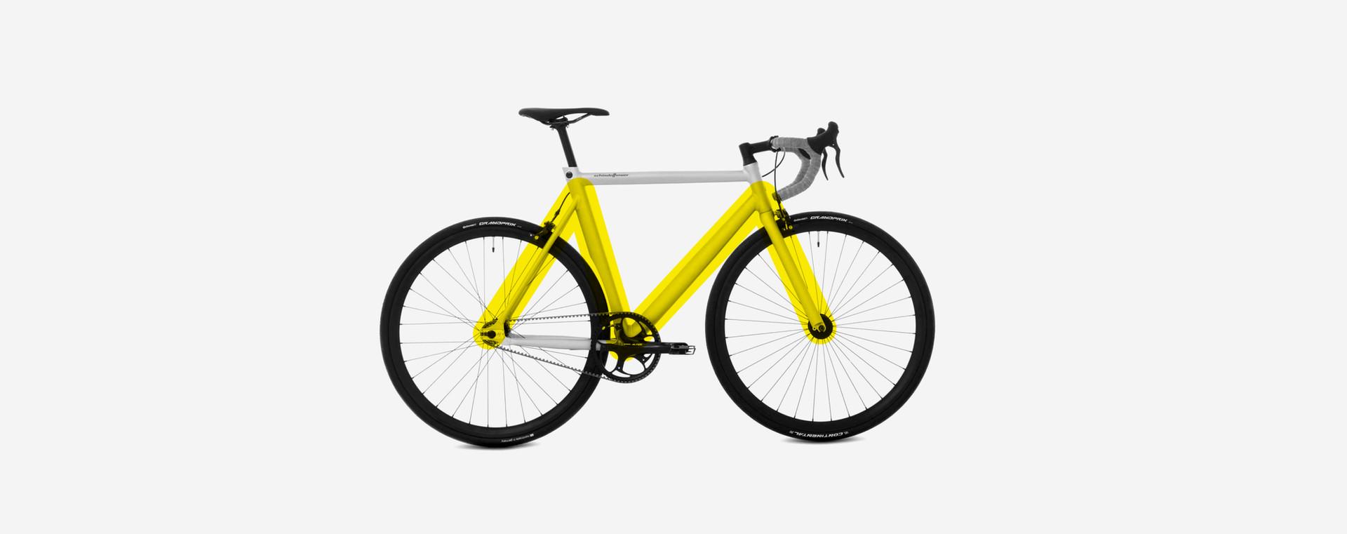 Investment bank bike yellow