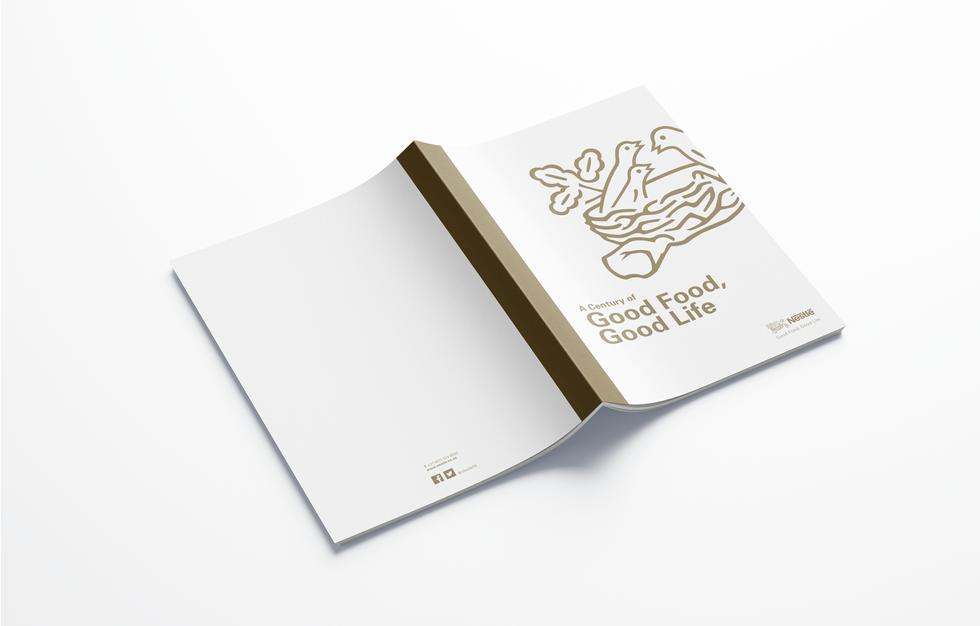 Corporate profile brochure cover