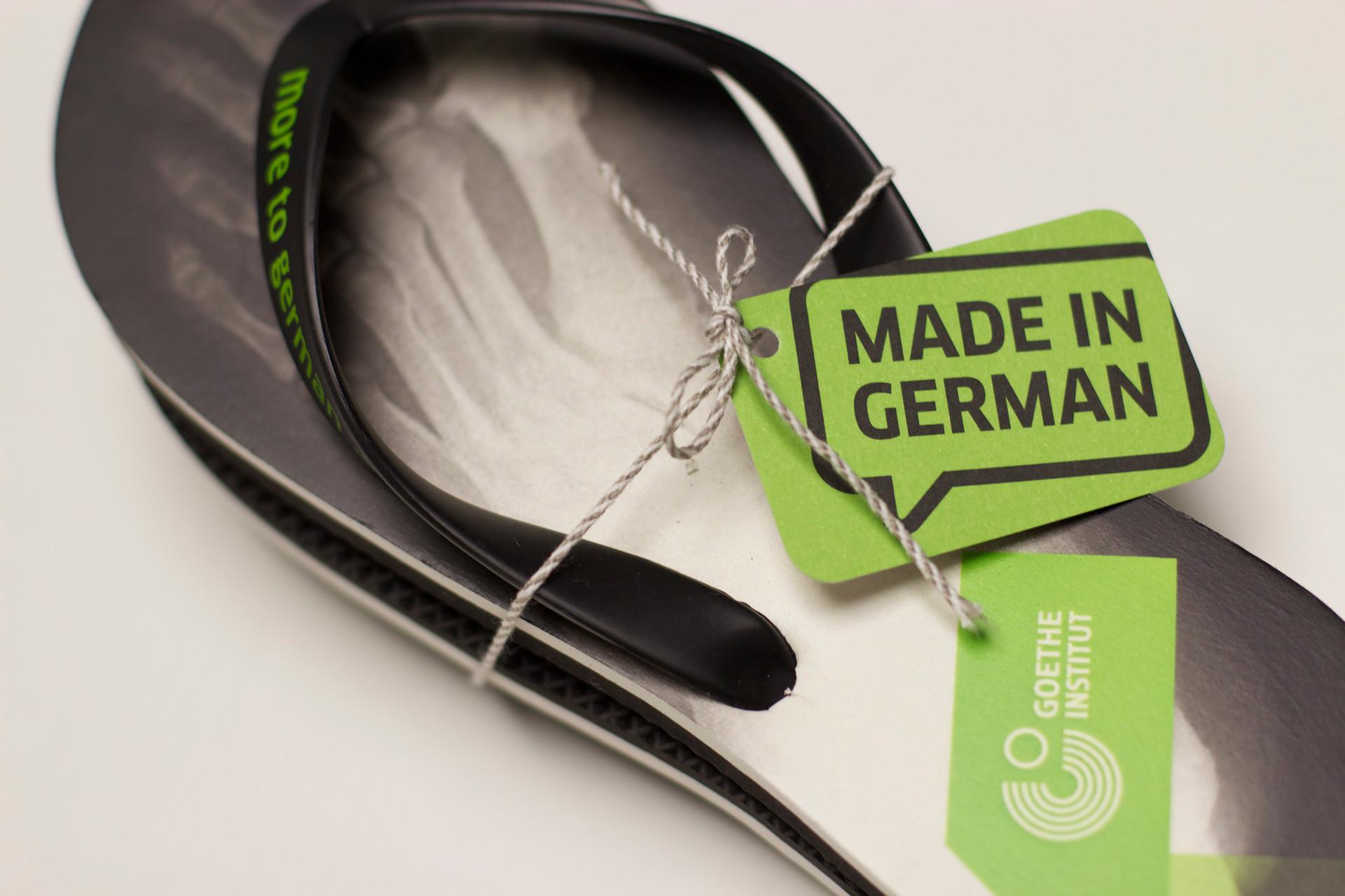 German education sandals
