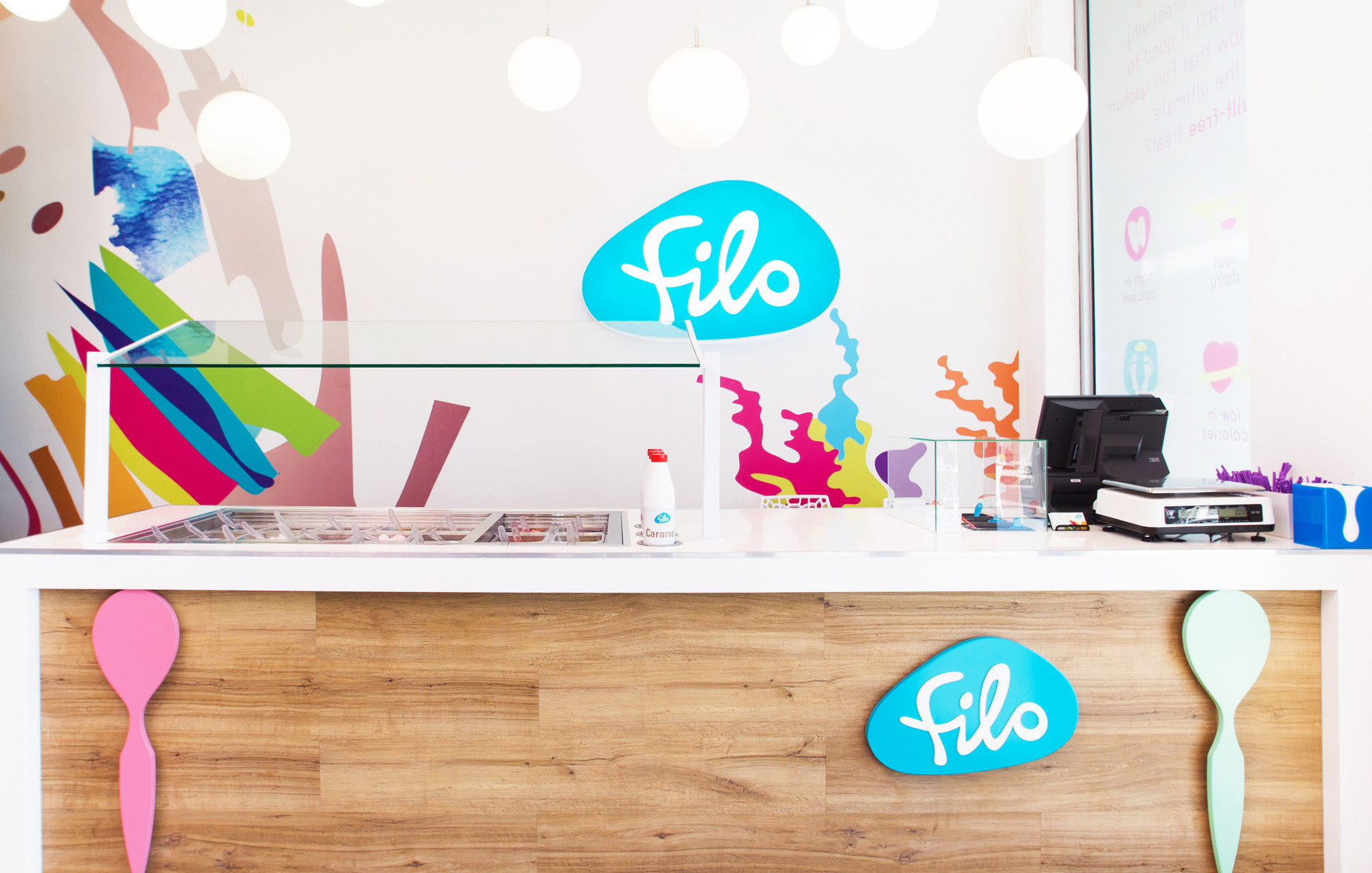 Retail Food Interior Counter