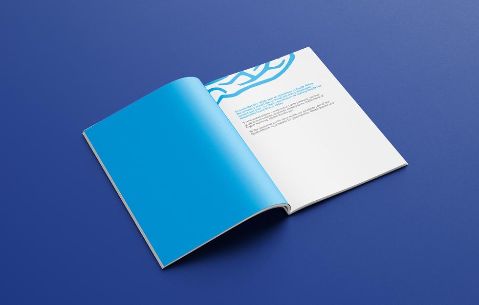 Corporate profile brochure spread 3