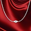 Thumbnail: Cape Cod Jewelry 925 Sterling Silver Real Snake Chain Necklace