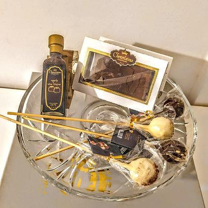 Purim Chocolate Platter