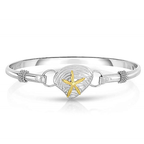 Cape Cod Jewelry 925 Sterling Silver Nautical Interchangeable Bangle