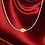 Thumbnail: Cape Cod Jewelry Necklace 925 Sterling Silver with 14k Gold