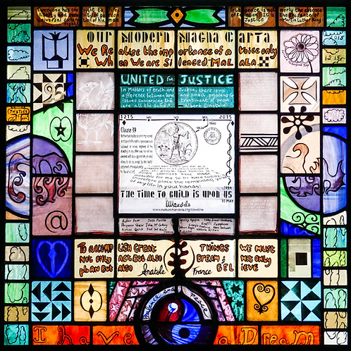 Our Magna Carta Window | Postcard