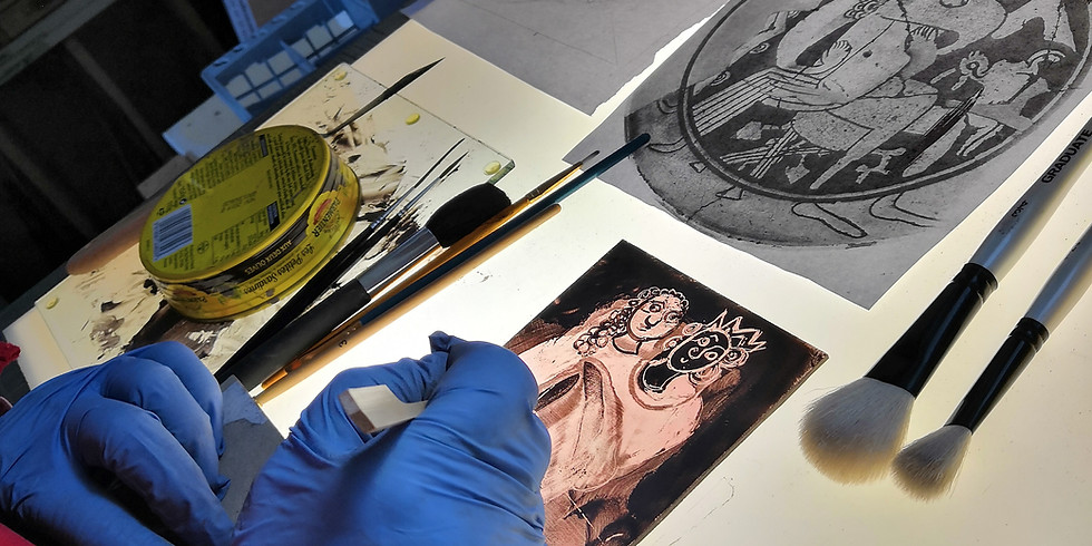 Beginners Traditional Stained Glass Painting Course
