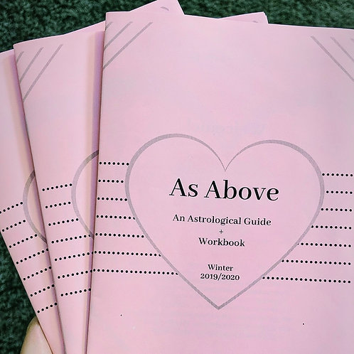 As Above - An Astrological Guide + Workbook