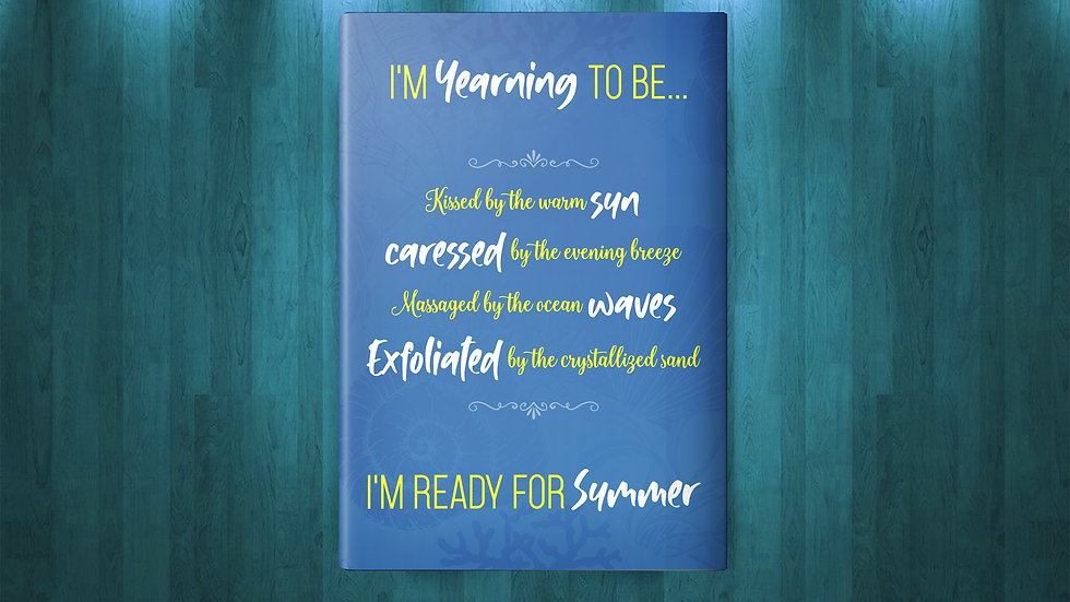 Yearning for Summer Journal