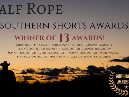 13 Wins from Southern Shorts Awards in Georgia