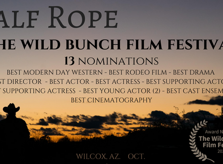 CALF ROPE Rides into The Wild Bunch Film Fest with 13 Nominations