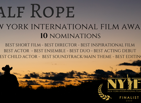 Calf Rope earns TEN nominations from the NYIFA