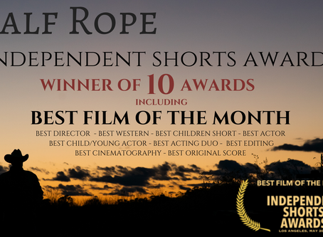 Calf Rope Wins Best Film of the Month from Independent Shorts Awards