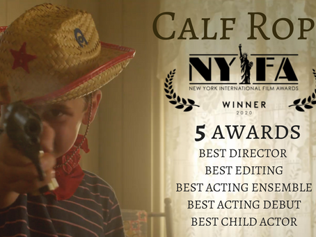 5 Wins for Calf Rope at New York International Film Awards