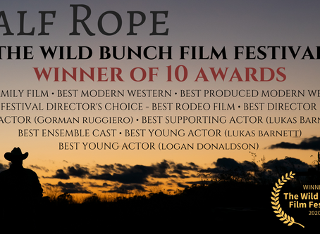 Calf Rope wrangles up 10 awards at        The Wild Bunch Film Festival