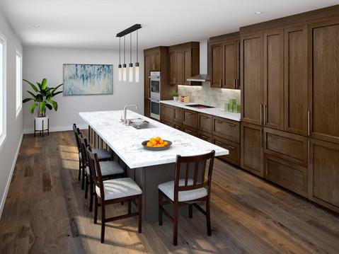 Lorna's Dream Kitchen Rendering