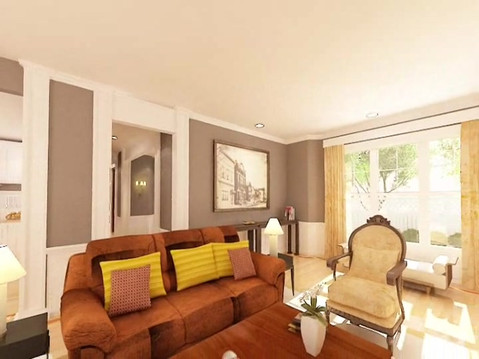 3D Rendered Residential Interior Animation