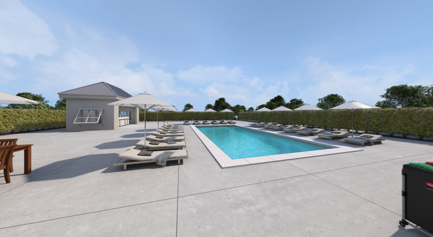 10712 Courtyard and Pool VR
