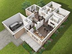 Home 3D Floorplan
