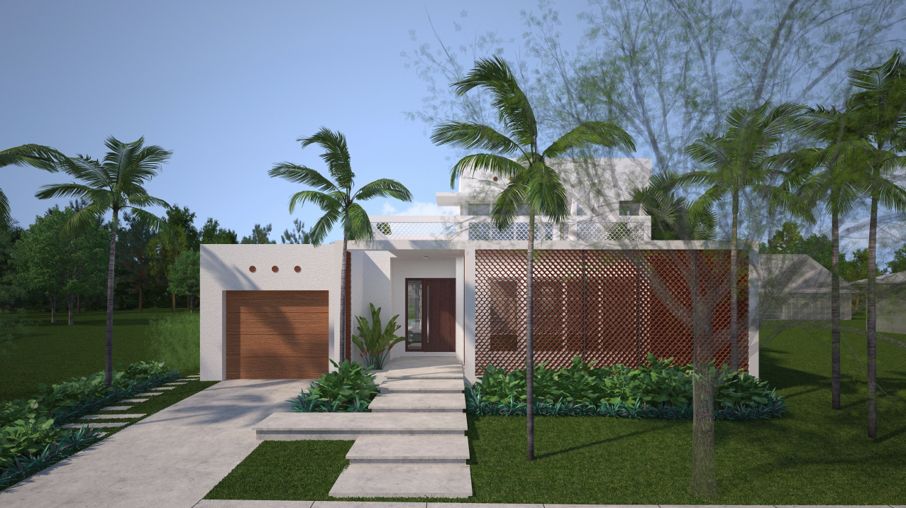 Virtual 360 of a Residential Exterior
