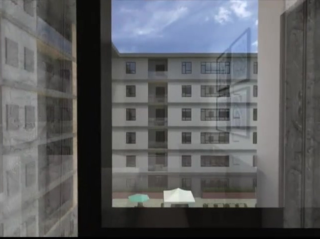 Rendered Walkthrough of an Apartment