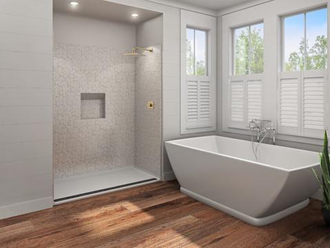 Home Bathroom Rendering