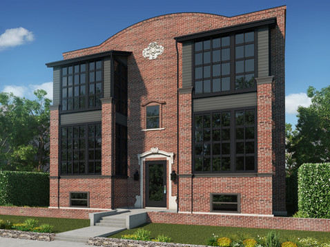 3D Exterior Rendering of Dover Station