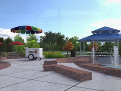 3D Animation of a Water Playground