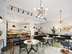 11287 Kips Bagel Cafe Interior