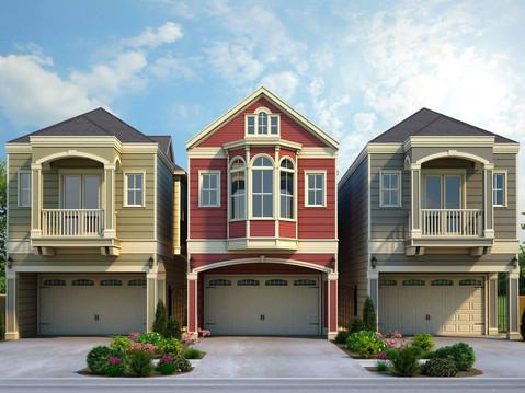 3D Rendering of Multiple Homes