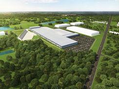 11585 Land Air Commerce Park Aerial