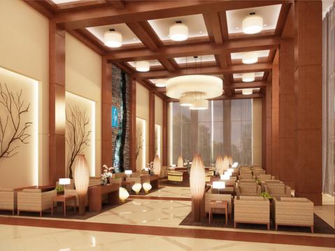 Hotel Lobby Commercial Interior