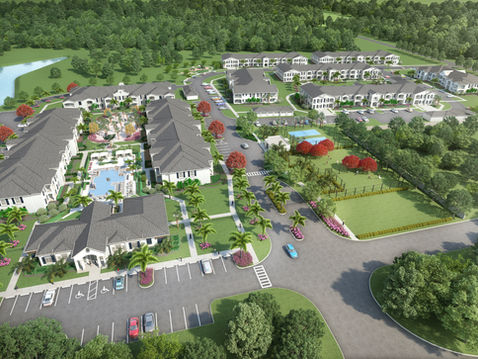 Residential Complex Aerial