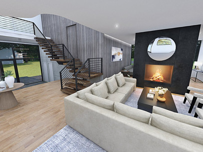 Virtual 360 of a Living Room Interior