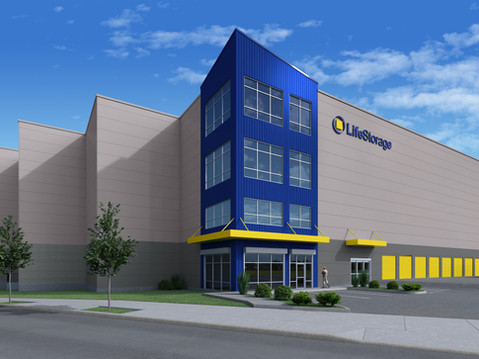 Self Storage Building Rendering