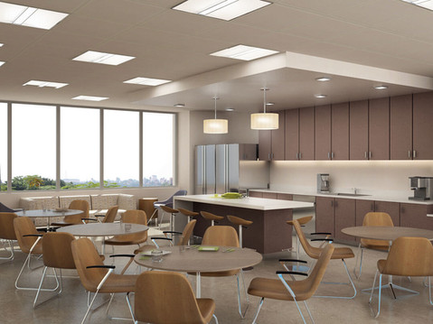 Rendering of an Office Lunch Room