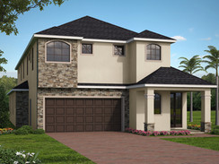 Mid Sized House Exterior Rendering