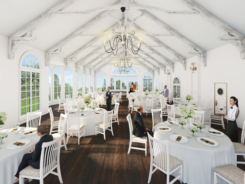 Danclay Farms Venue Interior