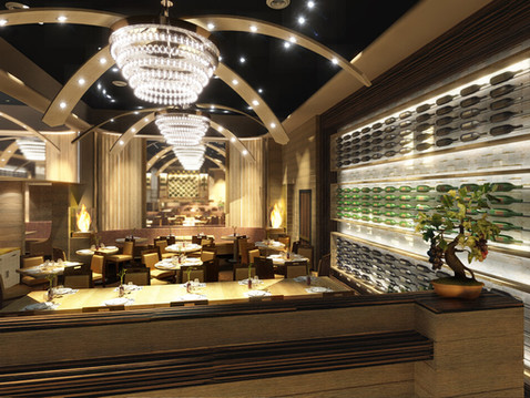 Upscale Restaurant Commercial Interior