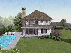 3D Rendered Residential Exterior Animation