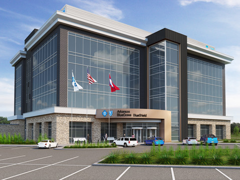 Rendering of a Commercial Building